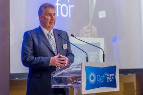 Καλωσόρισμα: Λεωνίδας Παπακωνσταντινίδης, Σύμβουλος ΟΕΥ Α', Πρόεδρος της ΕΝΔΥ ΟΕΥ, Διευθυντής Β8 Διεύθυνσης Επιχειρηματικής Συνεργασίας, Υπουργείο Εξωτερικών