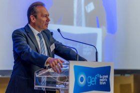 Θεσμικός Χαιρετισμός: Θεόδωρος Ελ. Τρύφων, Πρόεδρος, Πανελλήνια Ένωση Φαρμακοβιομηχανίας (ΠΕΦ) & Μέτοχος, Αντιπρόεδρος και Συνδιευθύνων Σύμβουλος, Όμιλος ELPEN Α.Ε.