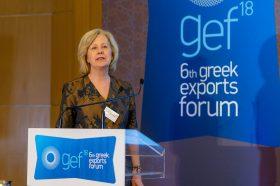 Ομιλία: Βίκυ Πανταζοπούλου, Πρόξενος ε.τ. της Δημοκρατίας της Κένυας στην Ελληνική Δημοκρατία & Επίτιμος Πρόεδρος του Ελληνο-Κενυάτικου Επιμελητηρίου Βιομηχανίας, Εμπορίου, Ανάπτυξης, Τουρισμού & Πολιτισμού - Τίτλος Ομιλίας: «Το αναπτυξιακό πλάνο της Κένυας 2018-2022»